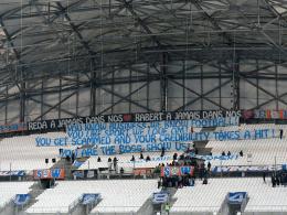 Marseille muss seine Heimspiele vorerst ohne Zuschauer austragen