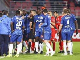 Rassismusvorfall: Unterbrechung in Dijon