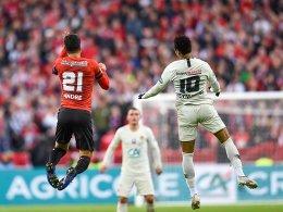 Rot für Mbappé, Nkunku verschießt: Stade Rennes schlägt PSG und gewinnt den Pokal