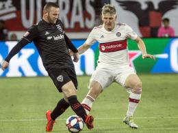 Schweinsteiger vs. Rooney: Assist zum späten 3:3