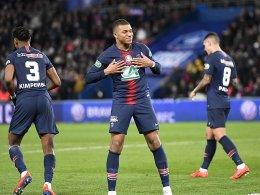 Paris im Finale: Mbappé trifft per Elfmeter