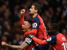 5:1! Nach Rot für Juan Bernat geht PSG in Lille unter