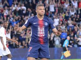 Meisterlicher Mbappé - Neymar-Comeback im Sondertrikot