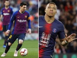 Golden Shoe: Kann Mbappé Messi noch einholen?