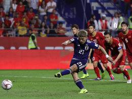Japan dank Doan weiter - Halbfinale gegen den Iran