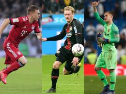 Stark bewertet: Kimmich, Brandt und ter Stegen