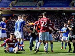 Haft und Zehn-Jahres-Sperre: Birmingham-Fan wird bestraft