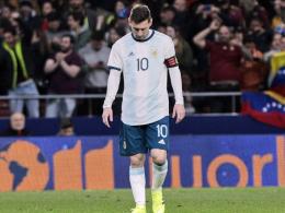 Vor allem Barça bangt: Zwangspause für Messi