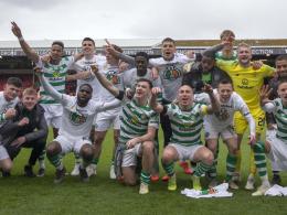 Zum 50. Mal Meister: Celtic nähert sich den Rangers