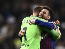 ESM-Elf: 13 Stimmen für Messi - ter Stegen dabei