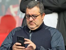 Strippenzieher außer Dienst: FIFA sperrt Raiola für drei Monate