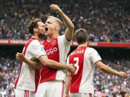 PSV patzt in Alkmaar: Ajax so gut wie Meister!