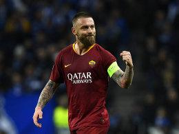 Vom Bad Boy zur Ikone: De Rossi verlässt seine Roma