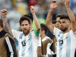 Argentinien mit Messi und Aguero zur Copa