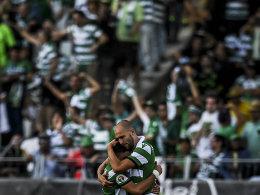 Obwohl Dost verschießt: Sporting holt den Pokal