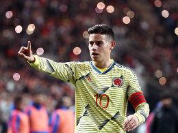 James führt Kolumbien bei der Copa an