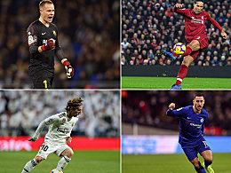 Die Fans haben gewählt: Das UEFA-Team des Jahres 2018