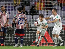 Kashima erst nach der Pause im Spiel - jetzt gegen Real!