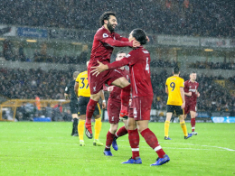 Liverpool bleibt auf Kurs: Salah trifft und legt auf