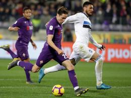 Wieder 3:3 - Chiesa führt Florenz zu Coppa-Comeback