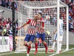 Saul Niguez trifft im Nachschuss - Atletico hält Schritt