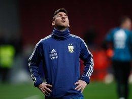 Bei Messi-Comeback: Venezuela schlägt Argentinien