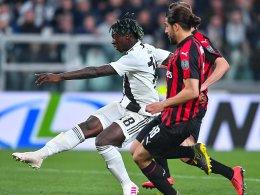 Wieder Kean: Juve dreht Partie gegen Milan