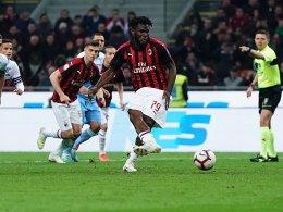Kessié per Strafstoß: Milan jubelt gegen Lazio