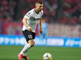 Podolski verliert mit Kobe erneut
