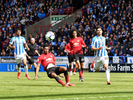 Nur 1:1 in Huddersfield - United verpasst die Champions League