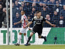 Triple-Traum lebt: Huntelaar schießt Ajax zum 19. Pokaltitel