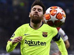 Barcelona kann sein Chancenplus nicht nutzen - 0:0 in Lyon