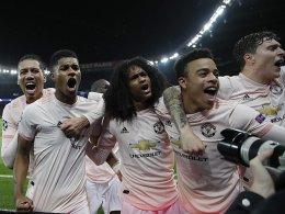 United-Überraschung in Paris - Porto kegelt Rom raus