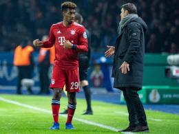 Kovac hofft weiter auf Coman-Einsatz gegen Liverpool