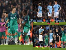 Irrer Abend mit sieben Toren! Tottenham wirft City raus