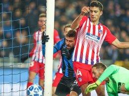 Nullnummer in Brügge: Atletico verpasst Gruppensieg