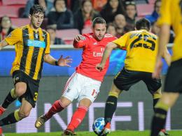 1:0 gegen AEK: Grimaldos Traum-Freistoß erlöst Benfica