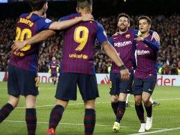 Messi brilliant: Barça muss nur kurz zittern