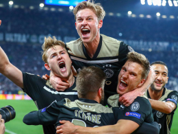 De Ligt köpft Ajax ins Halbfinale