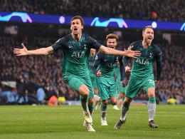 Verrückter Beginn, verrücktes Ende: Llorente lässt Tottenham jubeln