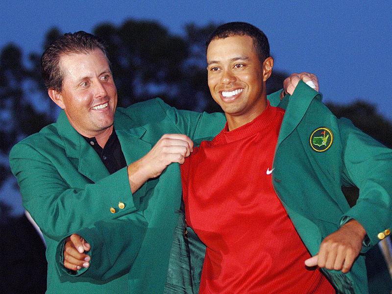 Us Masters Im Augusta National Golf Club Gefärbtes Gras Overalls