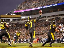 Trotz Gegenwind: Steelers verlängern mit Roethlisberger