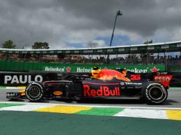 Vettel und Hamilton hinter Verstappen
