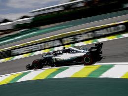 Mercedes dominiert: Bottas und Hamilton vor Vettel