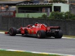 Vettel haut die Bestzeit raus - Hamilton klar dahinter