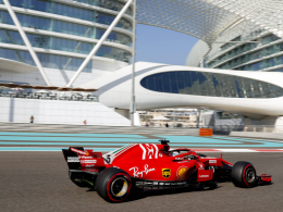 3. Freies Training: Hamilton vorne, Vettel 3.
