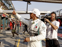 Schnellste Runde: Hamilton bringt sich in Position