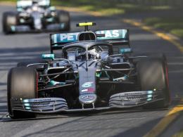 Furioser Bottas schlägt Hamilton, Schlappe für Ferrari