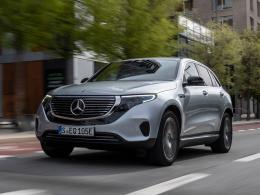 Mercedes EQC: Erster Stromer mit Stern