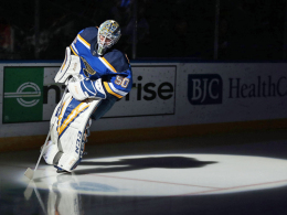 Binnington spielt den Blues - 37 Saves von Rookie Hart